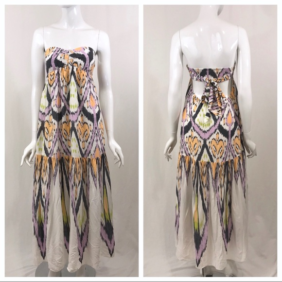 Free People Dresses & Skirts - Free People Strapless Maxi Dress Small